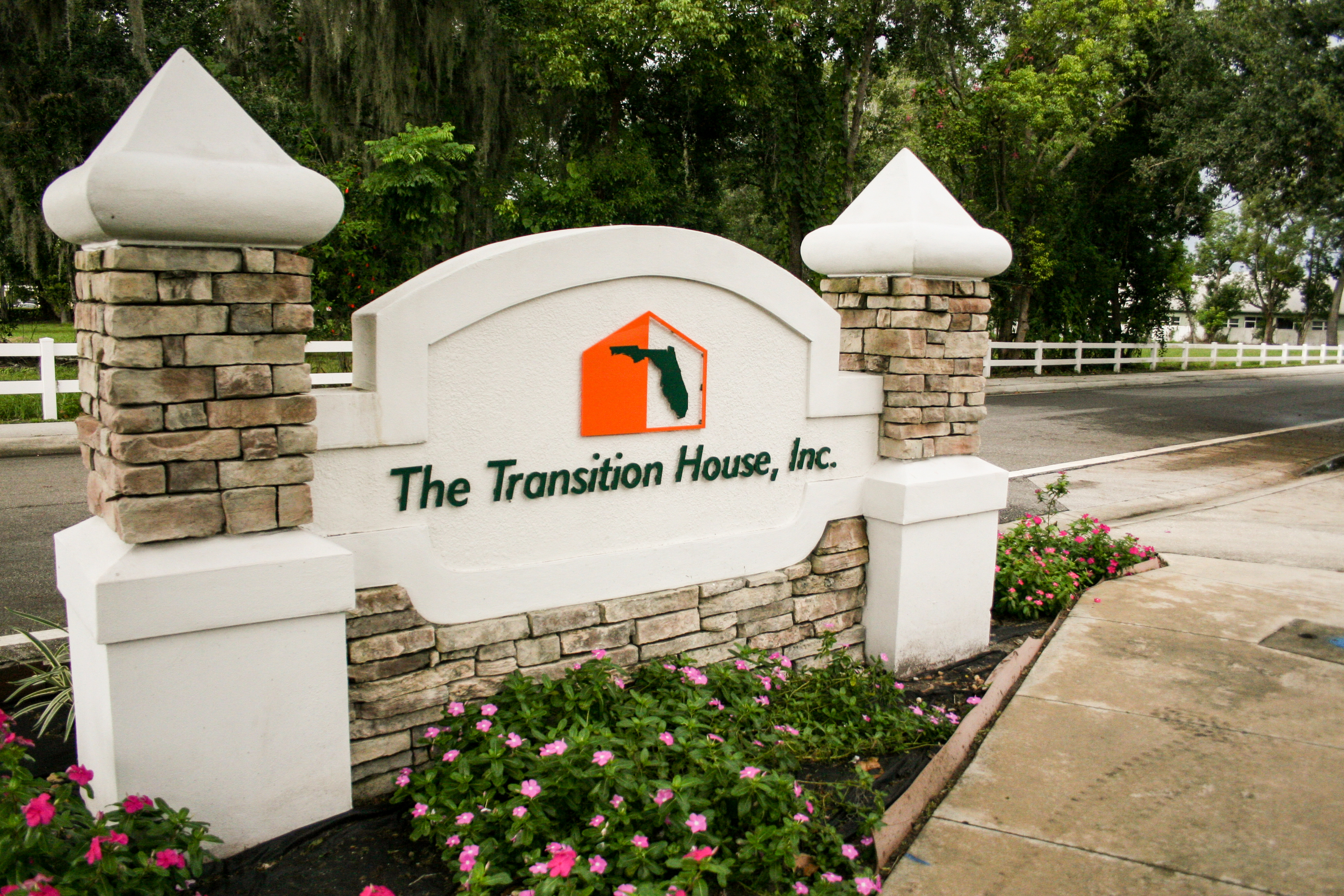 What is a transition house?